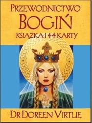 Karty przewodnictwo bogiń doreen virtue karty + książeczka