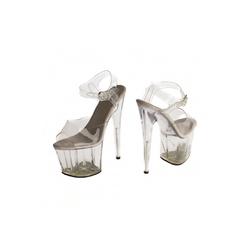 Seksowne buty roxie luve - przeźroczyste