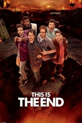 This Is The End Hollywood - plakat