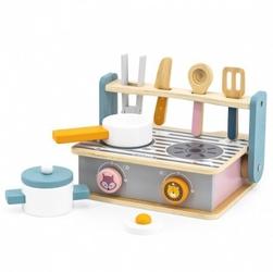 Drewniana składana kuchenka i grill viga toys
