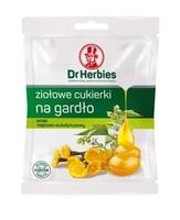 Dr herbies ziołowe cukierki na gardło mięta-eukaliptus 70g