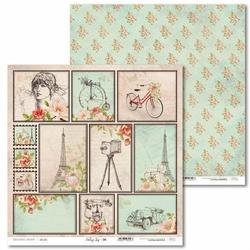 Ozdobny papier Vintage Trip 30,5x30,5 cm - 06 - 06