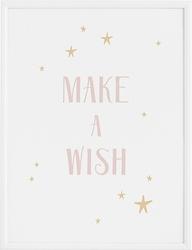 Plakat make a wish 30 x 40 cm