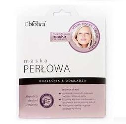 Lbiotica maska perłowa na tkaninie 25g