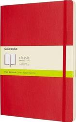 Notes moleskine w miękkiej oprawie xl czerwony w linie