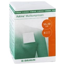 Askina 10x10 cm kompres z gazy niejałowy
