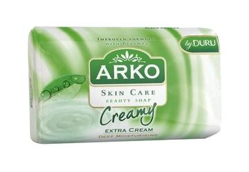 Arko skin care extra krem, mydło toaletowe, 90g