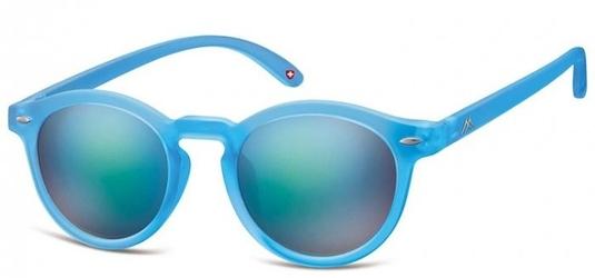 Okulary lenonki montana ms28c niebieskie lustrzanki