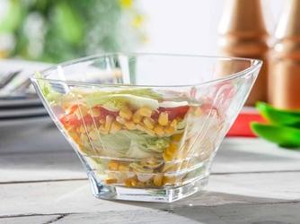 Salaterka szklana hrastnik stephanie stripes 18 cm