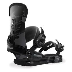 Wiązania snowboardowe union str black camo 2019