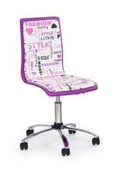 Fotel dziecięcy FUN-7 fioletowy