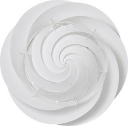 Plafon sufitowy i ścienny swirl 60 cm biały