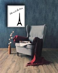 Paris - plakat wymiar do wyboru: 21x29,7 cm