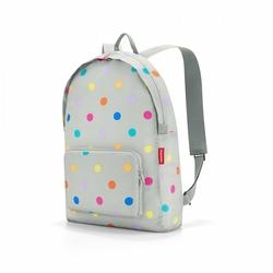 Plecak mini maxi rucksack stonegrey dots - stonegrey dot