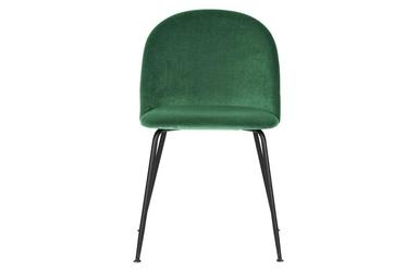 Woood :: krzesło tapicerowane alix aksamit zielone