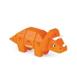 Triceratops drewniany dinozaur do złożenia