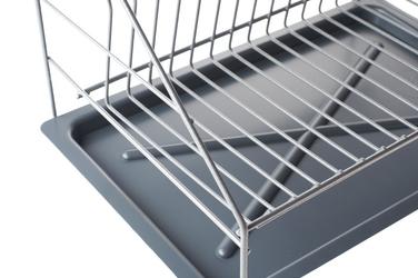 Metpol suszarka z rynienką smart srebrna 1 poziom