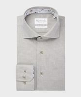 Elegancka zielona koszula michaelis w splot oxford 37