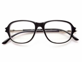 Okulary z Antyrefleksem czarne damskie 0011