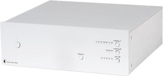 Pro-ject phono box ds2 kolor: srebrny