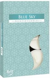 Bispol, Blue Sky, podgrzewacze zapachowe, 6 sztuk