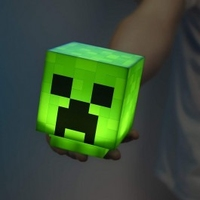 Lampka minecraft creeper