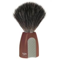 Mühle hjm męski pędzel do golenia z syntetycznym włosiem czerwono-szary 21 p 8 rogr