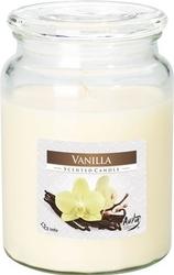 Bispol, snd99, świeca zapachowa słoik z wieczkiem, wanilia, 1 sztuka