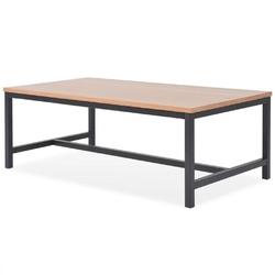 Vidaxl stolik kawowy, drewno jesionowe, 100 x 55 x 36 cm