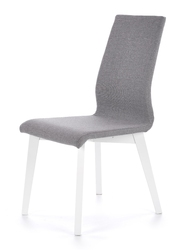 Krzesło do jadalni na drewnianych nogach focus biały