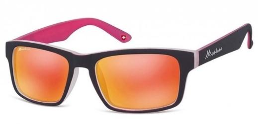 Okulary klasyczne montana ms35b revo black pink