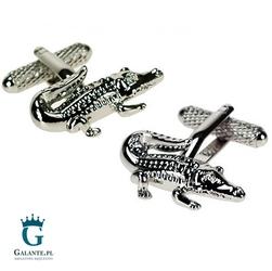 Spinki do mankietów aligator kc-403 onyx-art london