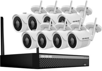 Zestaw wifi gise gs-kt08ipc8-2m - szybka dostawa lub możliwość odbioru w 39 miastach
