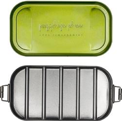 Lunch box metalowy w czarnym pokrowcu healthy plan by ann olsc001