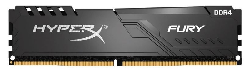 Hyperx pamięć ddr4 hyperx fury black 16gb2666 cl16