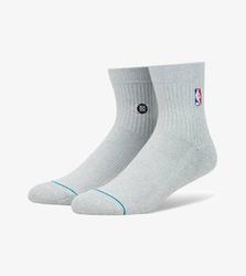 Skarpety Stance NBA Logoman Quarter - M356D17LOG-HGR
