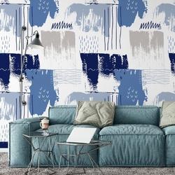 Tapeta na ścianę - abstract fields , rodzaj - tapeta flizelinowa