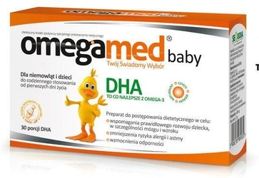 Omegamed baby x 30 kapsułek twist-off + vitaderol baby k gratis