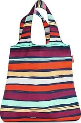 Torba na zakupy mini maxi shopper artist stripes