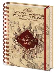 Harry potter mapa huncwotów - notes