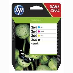 HP oryginalny ink N9J73AE, HP 364 Combo pack, CMYK, blistr, HP Combo-pack,B8550,C5380,D5460