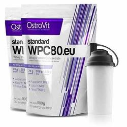 OSTROVIT WPC 80.eu Standard - 900g x 2 + Shaker GRATIS - Berries