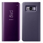 Etui Clear View cover do Samsung Galaxy Note 8 Fioletowe - Fioletowy