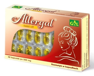 Gal allergal x 48 kapsułek twist off