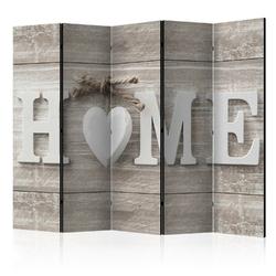 Parawan 5-częściowy - parawan: home i serce