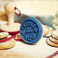 Ciasteczkowy stempel i love you