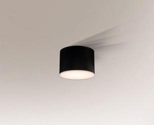 Shilo :: oprawa natynkowa suwa round ø10cm czarna