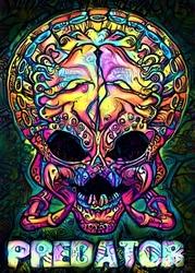 PsychoSkull, Predator, Alien Obcy - plakat Wymiar do wyboru: 20x30 cm