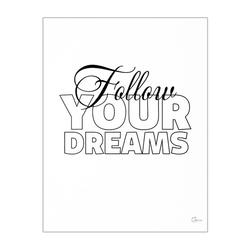 Plakat follow