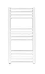 Grzejnik łazienkowy york - wykończenie proste, 400x800, białyral - paleta ral